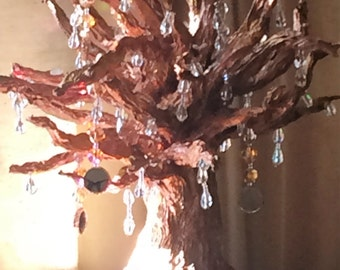 Rainbow Prism Bling Tree Accent Light