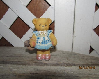 Cherished Teddies Wizard of Oz Ozz There's no place like home Dot Dorothy Toto