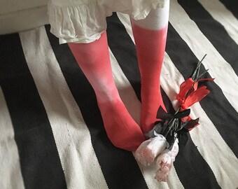 Knee Deep in Blood Socks
