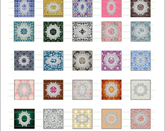 INSTANT DOWNLOAD Vintage Inches Doilies Vintage Design Jewelry Graphic Design Printable Digital Decorative Design Textile Design Pendants