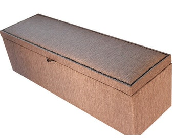 Custom Made Blanket Boxes and Ottomans