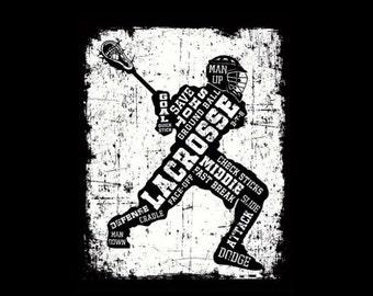 Lacrosse,Lacrosse Gift,Lacrosse Canvas,Lacrosse Decor,Lacrosse Wall Art,Lax,Lacrosse Gifts,Lacrosse Print,Lacrosse Mom,Lacrosse Stick,Decor