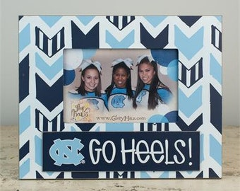 Glory Haus Go Heels Picture Frame