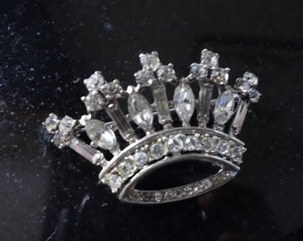1946 Crown by Alfred Philippe in sterling silver