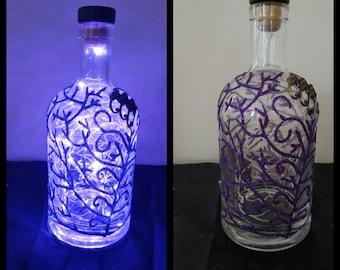 Upcycled bottled light