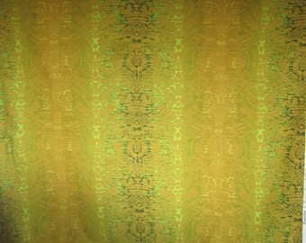 1960s upholstery fabric length