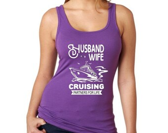 Husband and Wife Cruising Tank Top