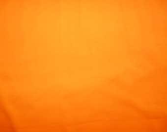 Fabric - cotton jersey fabric -  orange - fat quarter