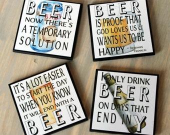 Beer Lover Coasters