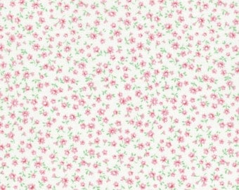 Tiny Pink Flowers (31136-10) by Lecien Cotton Fabric Yardage