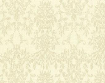 Damask Dark Cream 31364-10 by Lecien Cotton Fabric Yardage