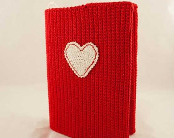 Small copybook ermined with crochet by me