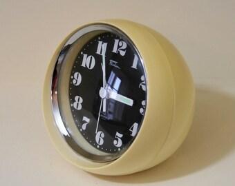 Japanese Alarm Clock 1960's 'Fashion' 2 Jewels