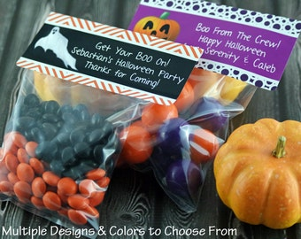 Halloween Party Ideas - Halloween Goody Bags - Halloween Goodie Bags - Halloween Favors - Halloween Party Supplies - Set of 12