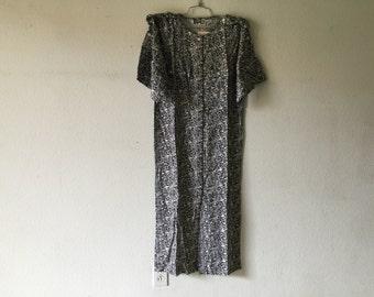 Vintage 80s Long Maxi Dress
