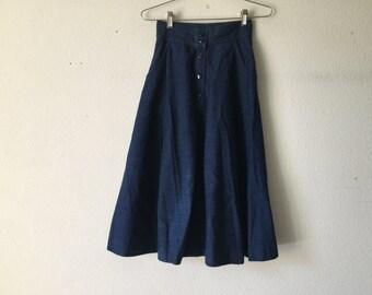 Vintage Skirt - Pierre Cardin Jeans