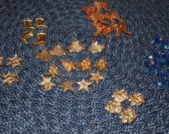 Vintage Cute Lot Of Plastic Charms