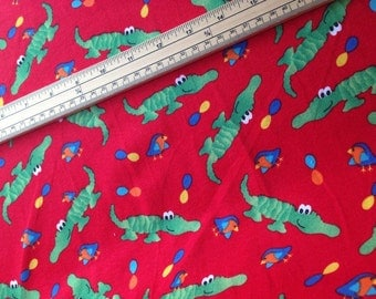 Childrens Jersey - Crocodiles Jersey Fabric