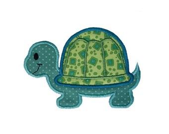 Turtle Applique Machine Embroidery Digital Design Tortoise