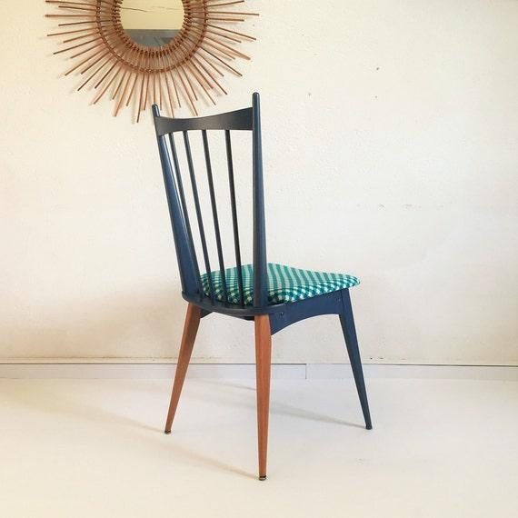 Chaise scandinave style bistrot vintage ann es 60 bois et - Chaises scandinaves bois ...