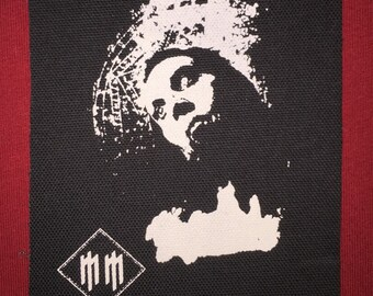 Marilyn Manson Cloth Punk Patch