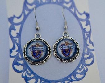 Harry Potter (inspired), House Crest, Ravenclaw earrings