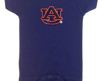 Auburn Tigers Team Spirit Baby Bodysuit