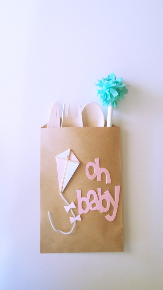 kraft paper bag baby shower treat bags brown kraft small candy bags