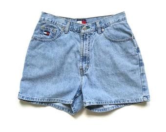 90's Tommy Hilfiger High Waist Jean Shorts