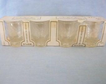 Anchor Hocking Vintage Juice Glasses
