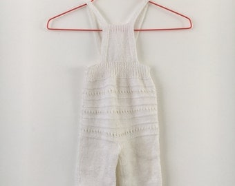 Vintage knitted crawler size 74/80