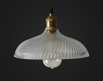 Country Style Glass Ceiling Lamp - ceiling - pendant lamp - edison bulb - industrial style - DIY lighting - hanging lamp - Edison bulb lamp