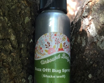 Buzz Off! ORGANIC Bug Spray // Bug Repellant 2.5oz