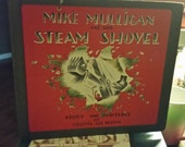 Mike Mulligan And The Steam Shovel Virginia Lee Burton Book Club Edition