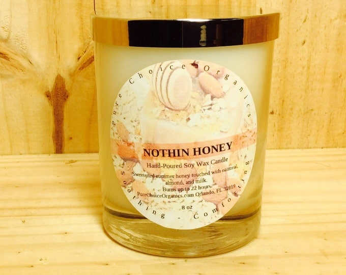 Featured listing image: Nothin Honey Soy Wax Candles Holiday Gift BOGO Sale! Buy2 Get1