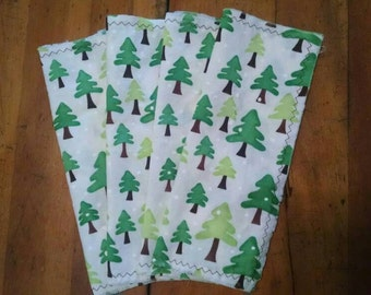 Tree Printed Cloth Napkins
