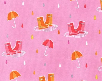 Splish, Splash in Pink, Pitter Patter Collection, Michael Miller Fabrics