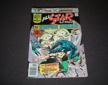 All Star Comics 62, (1976), All Star Super Squad, DC Comics  C11