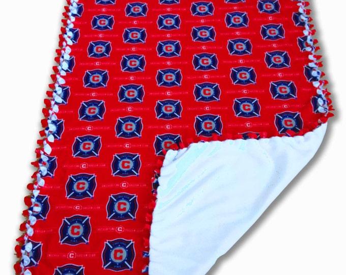 MLS Sports Fleece | Chicago Fire Blanket | FC Dallas | LA Gallaxy | Major League Soccer | Soccer Blanket | Sports Blanket | Portland Timbers