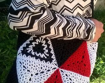 Handmade crochet handmade cotton crochet bag