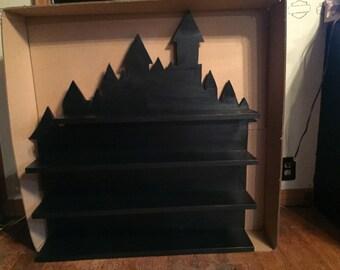 Extra large Castle display shelf
