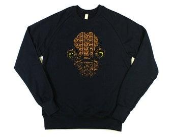 Star Wars: Admiral Ackbar Mens Sweatshirt