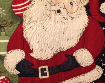 Quilted Santa Wall Hanging