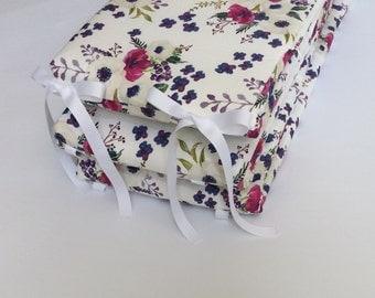Crib Bumper - Boho Floral