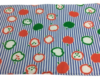 Apples and Stripes Placemats
