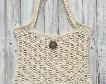 Crochet beach bag pattern, crochet pattern, crochet purse pattern, crochet tote pattern, crochet bag pattern, crochet summer bag pattern