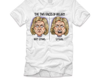 The 2 Faces Of Hillary