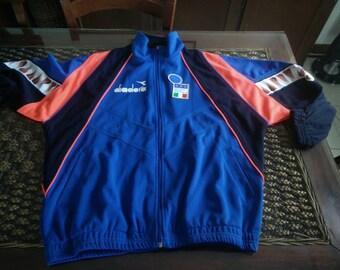 1988 Italy National team  jacket  by Diadora made in italy