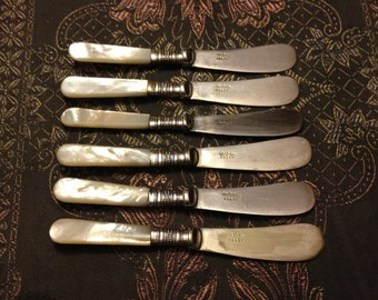 6 Abbey Butter Knives