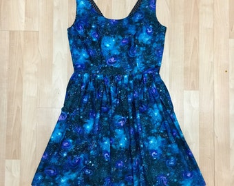 Cosmic Galaxy Dress